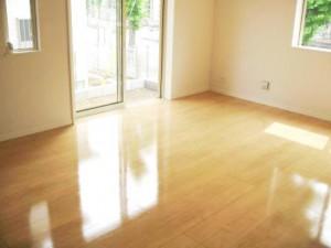 床材:サンロードアート 施工:UVフロアコートEco